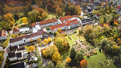 Betreutes Wohnen Horn Bad Meinberg Luftbild
