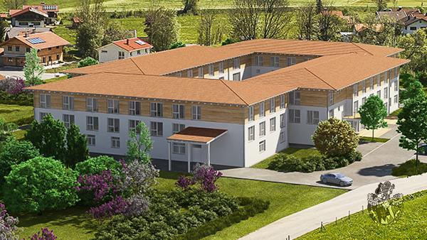 Neubau Pflegeapartments Unterammergau Oberbayern Landkreis Garmisch Partenkirchen