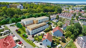 Pflegeimmobilie Bayreuth Vogelperspektive klein