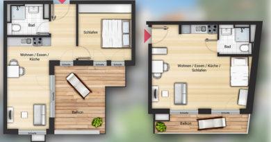 kleine Wohnungen Nürnberg wenige Appartements frei