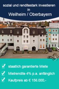 Geldanlage Pflegeheim Weilheim