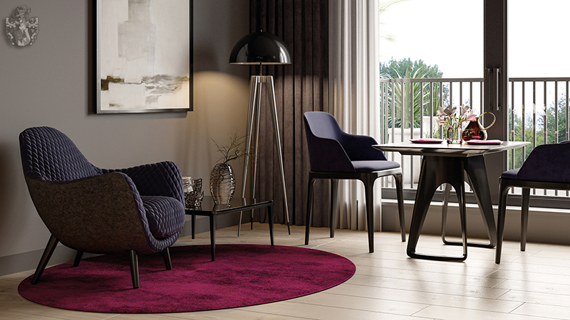2 Zimmer Eigentumswohnung München Wohnzimmer Design