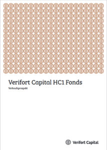 Cover Prospekt Verifort Capital HC 1