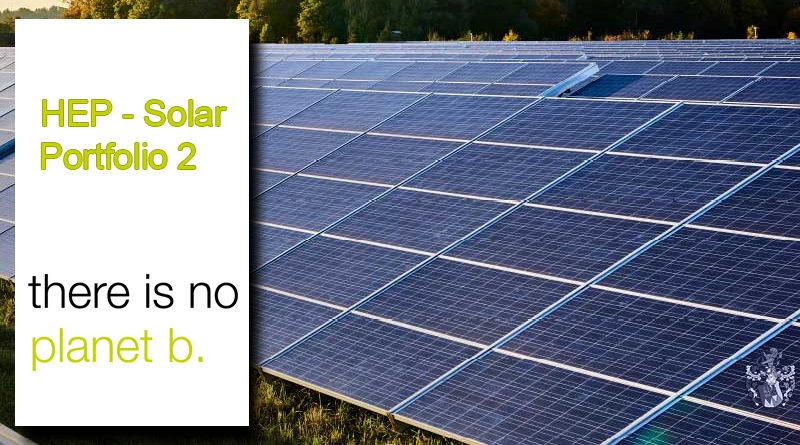Solarfonds HEP Solar Portfolio 2 Angebot Ott Kapitalanlagen
