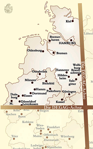 DEGAG Investitionsradius Norddeutschland Mitteldeutschland