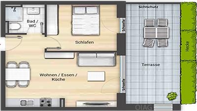 Grundriss 1 Hornschuch Campus